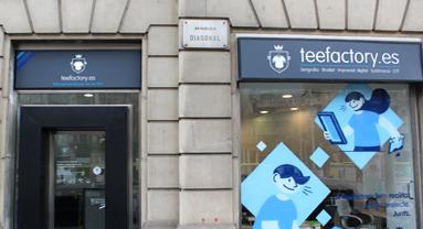 Showroom à Barcelone