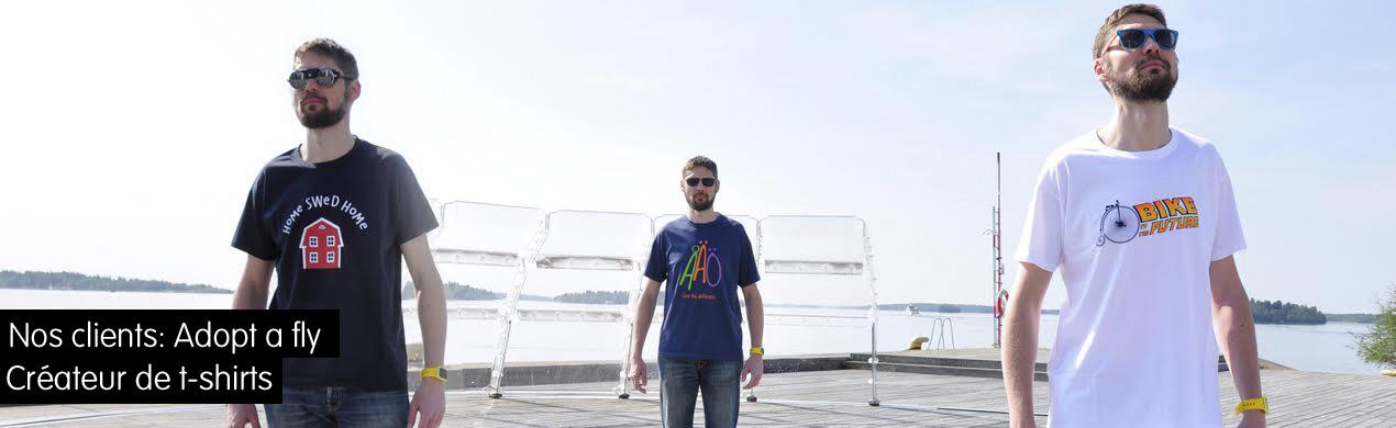 Tshirts personnalisés pour créateurs