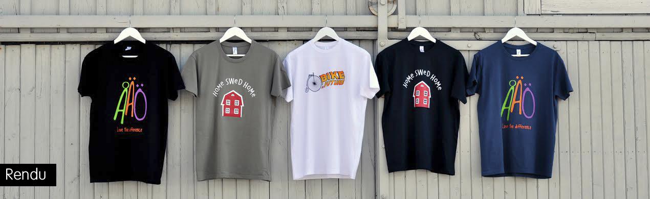 Tee shirts personnalisés pour créateurs