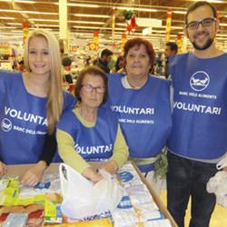 Volontaires de la Banque Alimentaire
