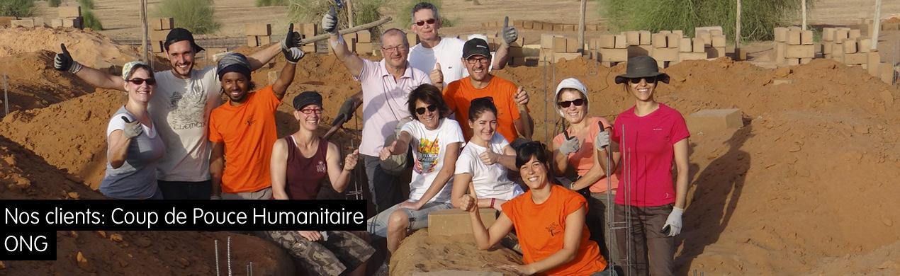T-shirts pour association humanitaire