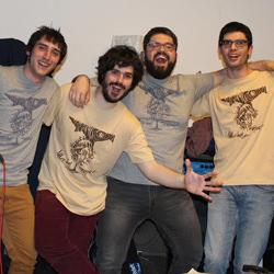 T-shirts pour groupe de musique