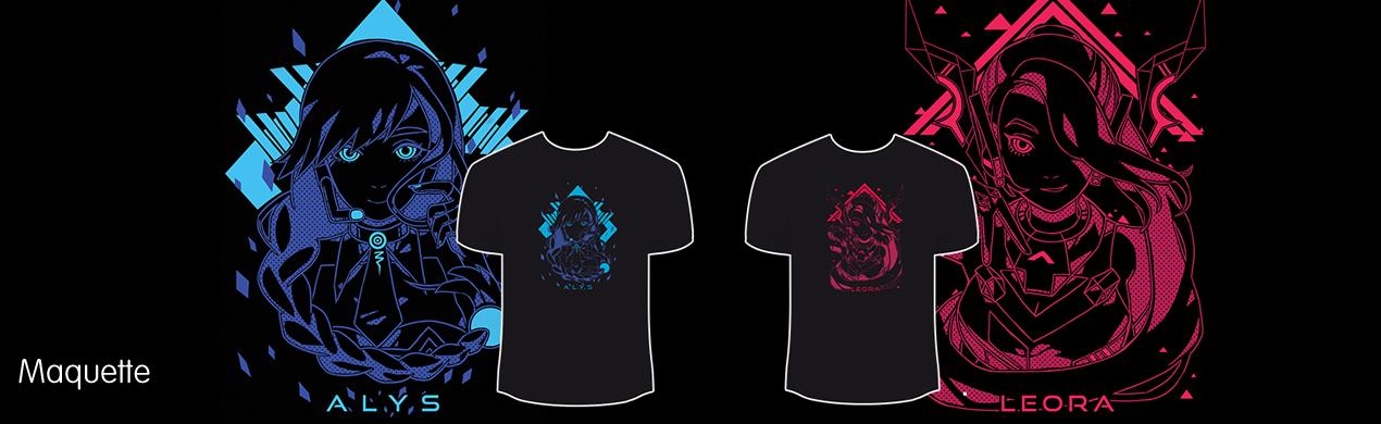 Tee-shirts personnalisés en sérigraphie