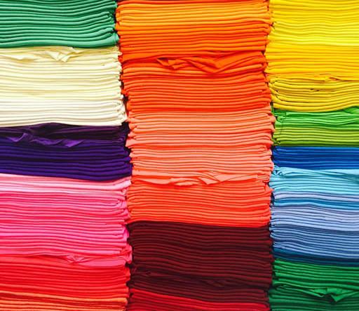 Séparer/trier les vêtements par couleur